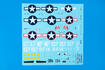 F6F-3 Hellcat WET TRANSFER decals 1/48