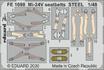 Mi-24V seatbelts STEEL 1/48