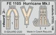 Hurricane Mk.I seatbelts STEEL 1/48