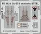 Su-27S seatbelts STEEL 1/48