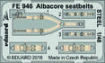 Albacore seatbelts STEEL 1/48