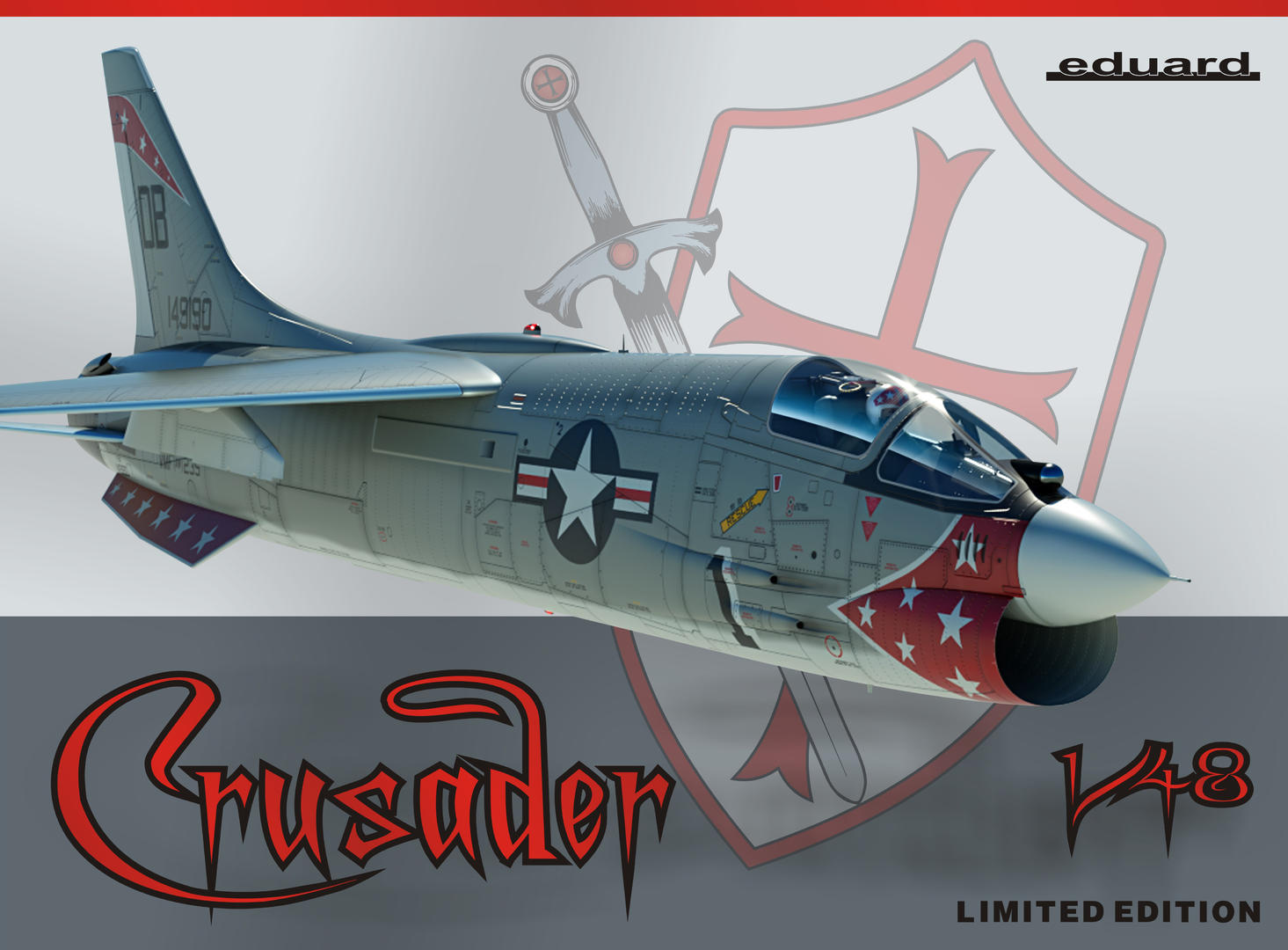 Eduard 1/48 Vought F-8E Crusader Limited Edition