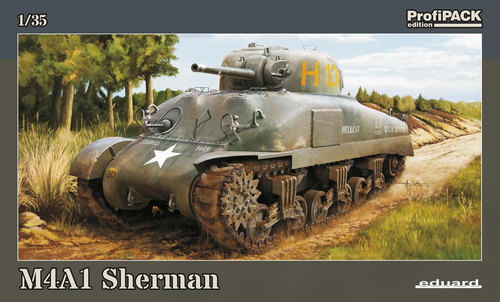 M4a1 Sherman 1 35 Eduard Store