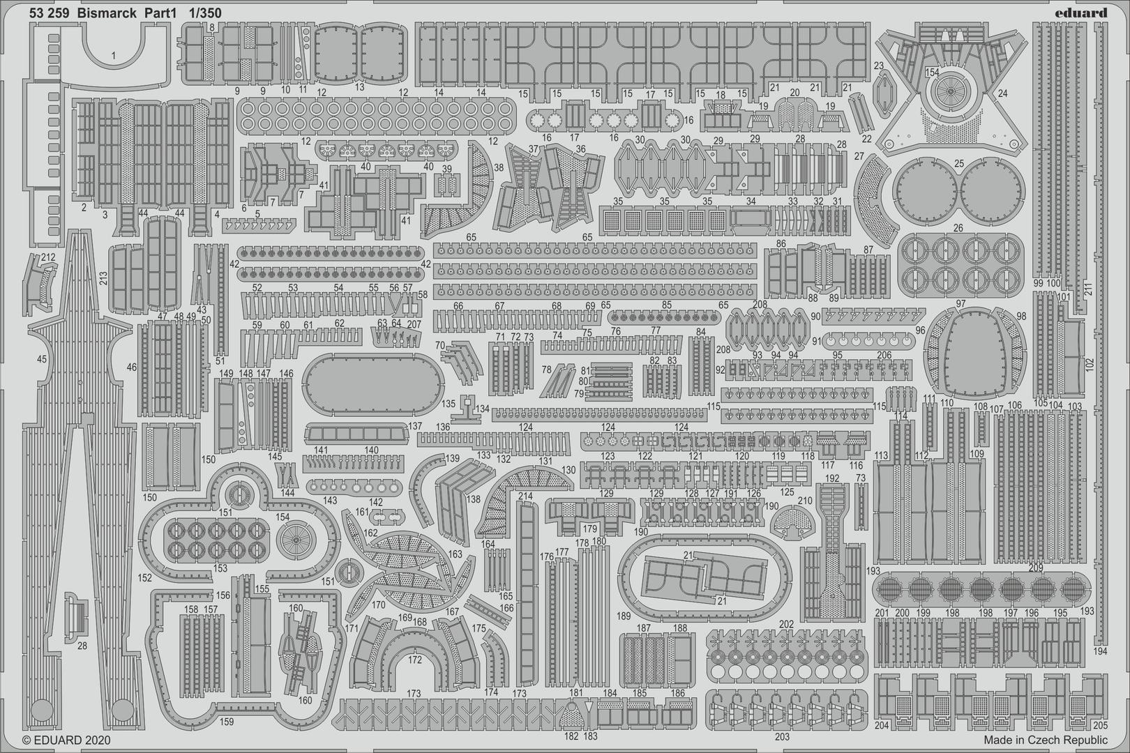 DKM Bismarck (Trumpeter 1/350 + PE Eduard) par horos - Page 4 53259(2)_z1