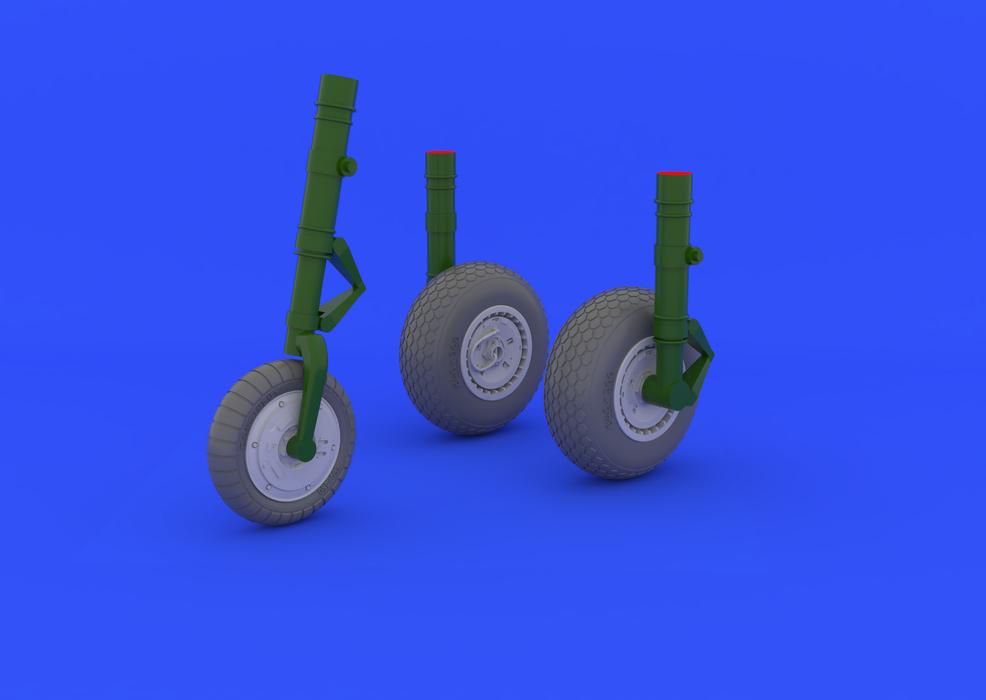 Eduard edua 632031 me 262 wheels 1//32