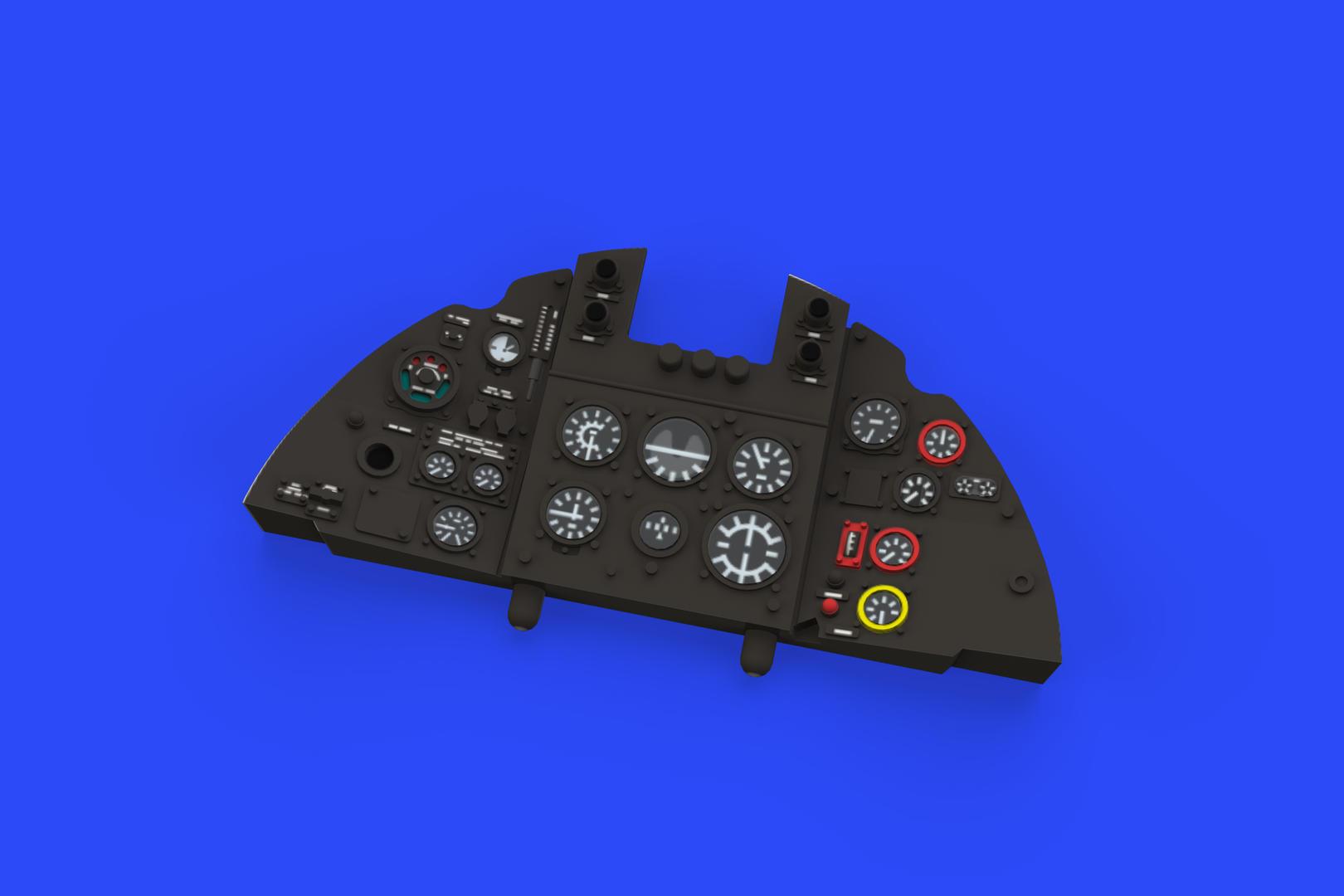 EDUARD BRASSIN 648419 Gun Bays for Eduard Kit Tempest Mk.V in 1:48