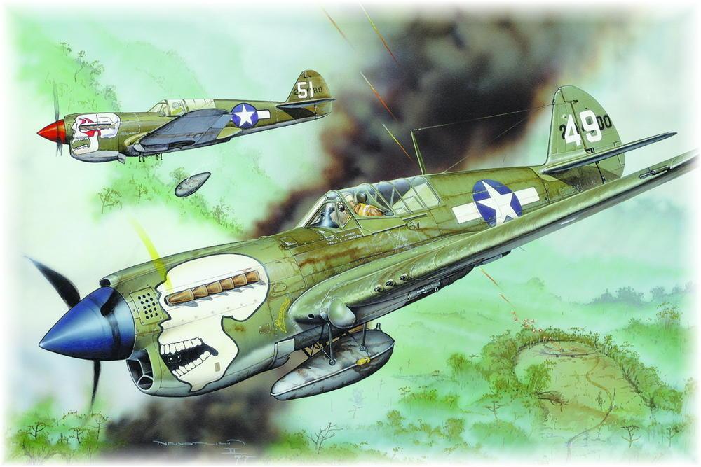 From the box - Curtiss P-40N Warhawk [Eduard 1/48] 8036