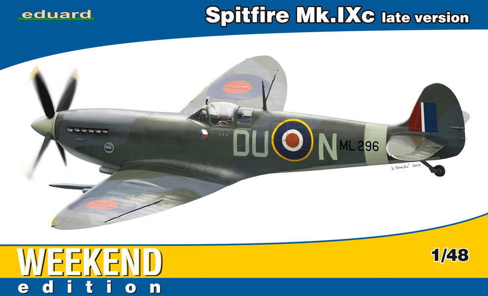 Spitfire Mk Ixc Late Version 1 48 Eduard Store