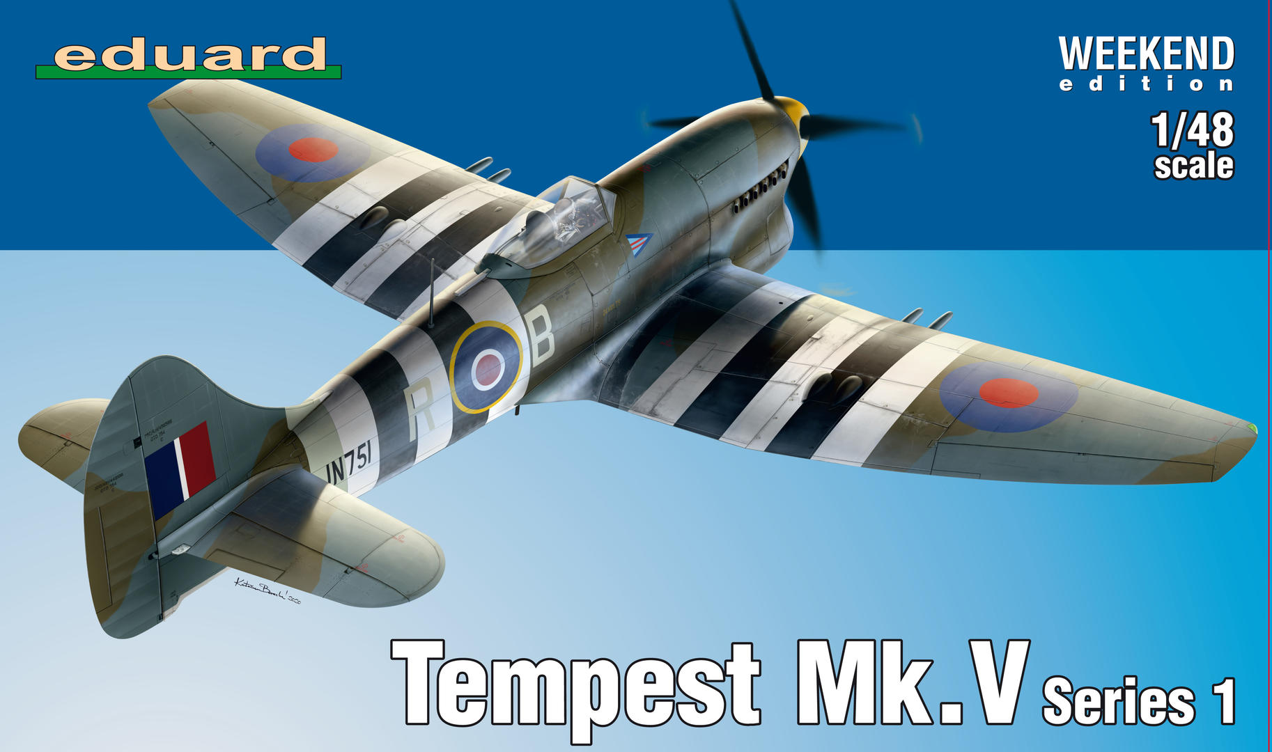 1:48 Hawker Tempest Mk.V (WEEKEND edition)