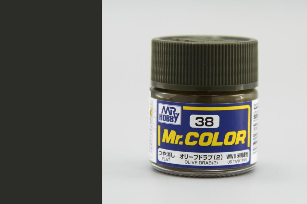 Barva Mr. Color akrylová č. 038 – Olive 2 (10 ml)