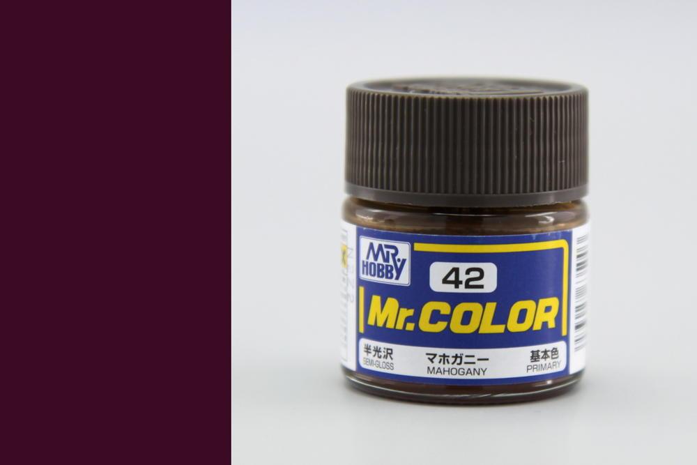 Barva Mr. Color akrylová č. 042 – Mahagon (10 ml)