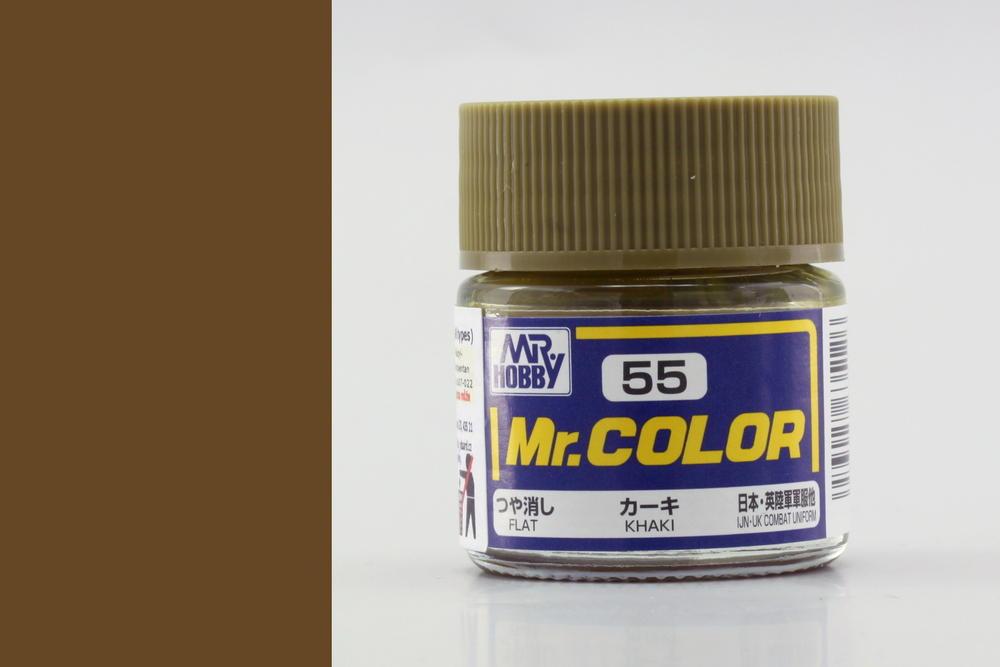 Barva Mr. Color akrylová č. 055 – Khaki (10 ml)
