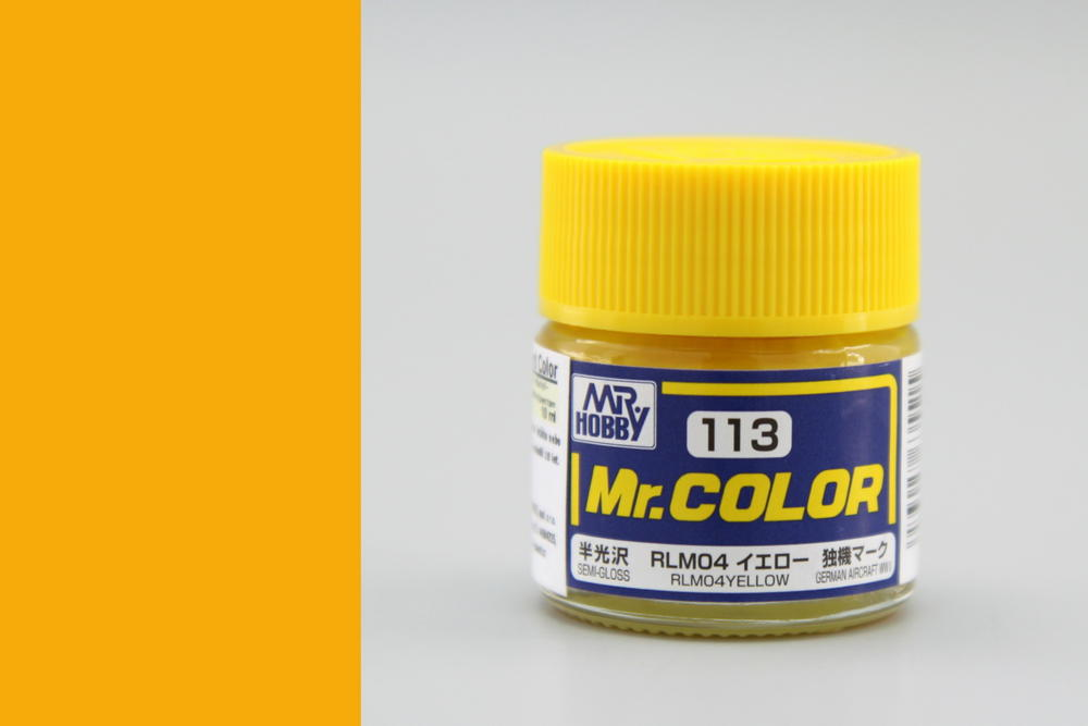 Barva Mr. Color akrylová č. 113 – RLM04 Yellow (10 ml)