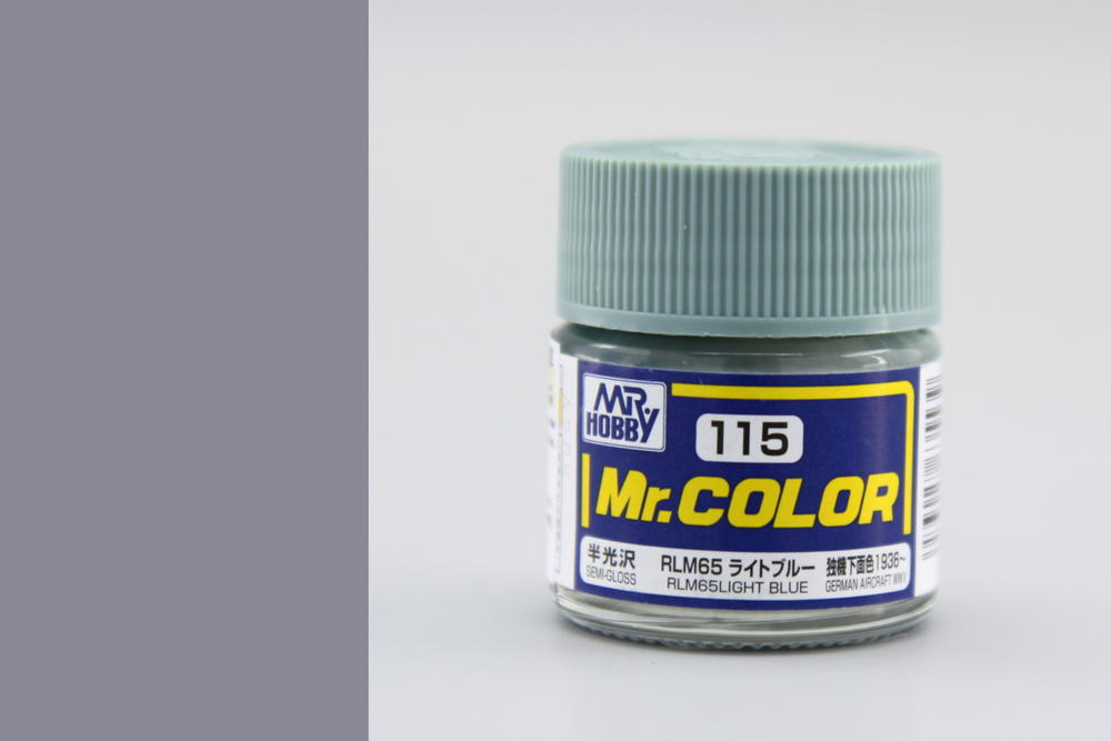 Barva Mr. Color akrylová č. 115 – RLM65 Light Blue (10 ml)