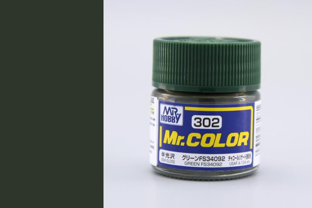 Farba Mr. Color akrylová č. 302 – Green FS34092 (10 ml)