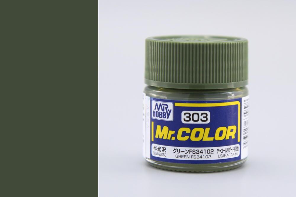 Farba Mr. Color akrylová č. 303 – Green FS34102 (10 ml)