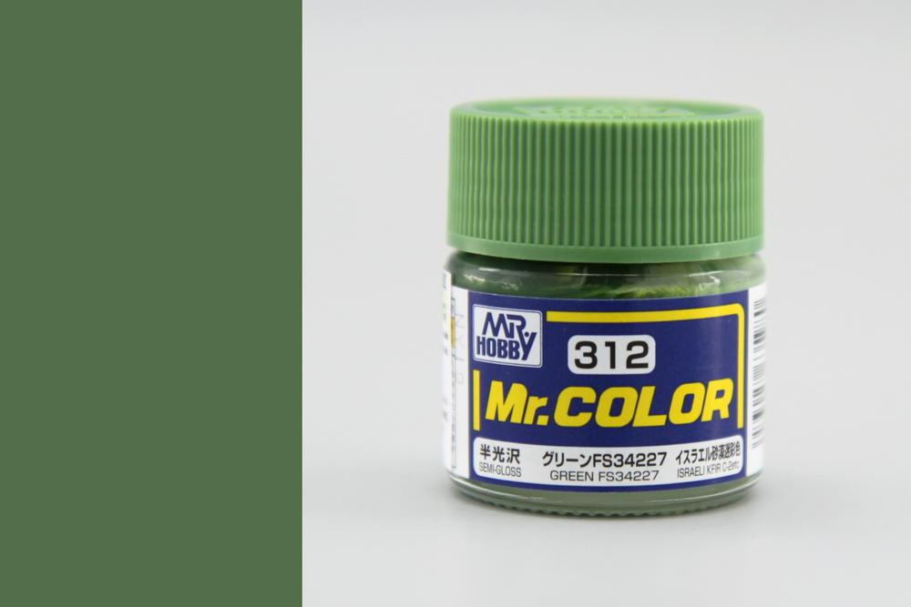 Barva Mr. Color akrylová č. 312 – Green FS34227 (10 ml)