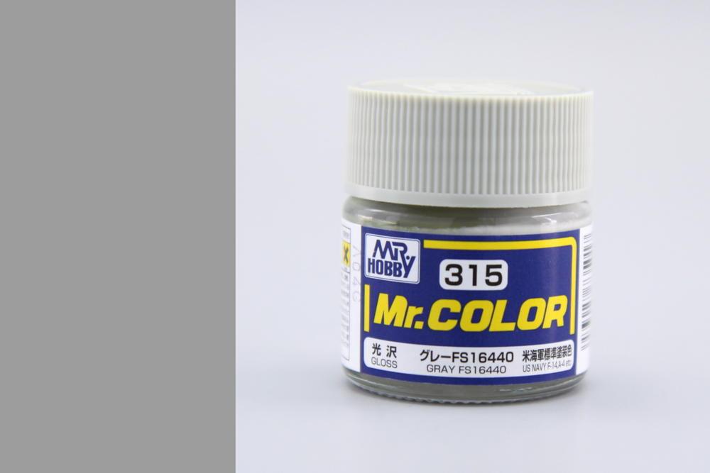 Barva Mr. Color akrylová č. 315 – Gray FS16440 (10 ml)