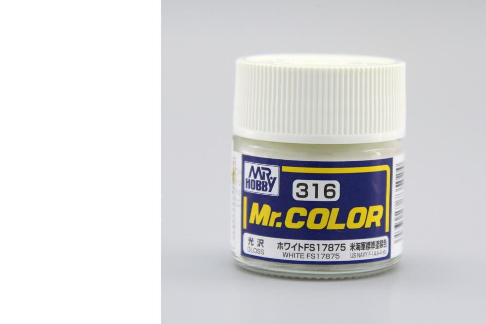 Farba Mr. Color akrylová č. 316 – White FS17875 (10 ml)
