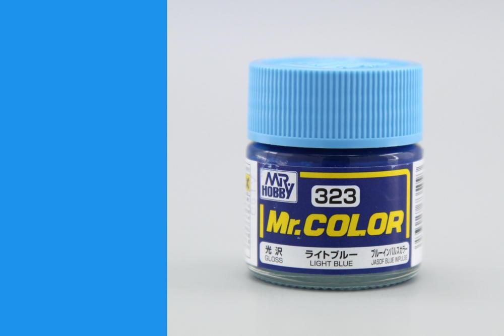 Farba Mr. Color akrylová č. 323 – Light Blue (10 ml)
