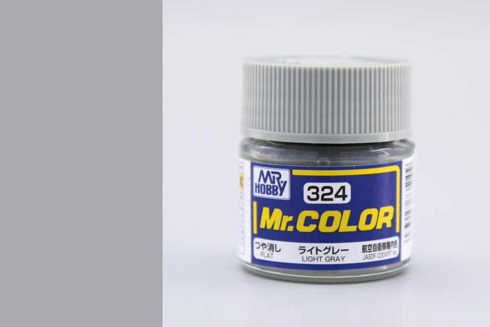 Farba Mr. Color akrylová č. 324 – Light Gray (10 ml)