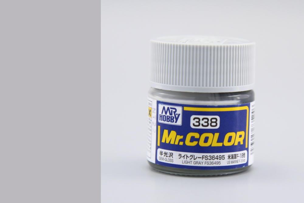 Barva Mr. Color akrylová č. 338 – Light Gray FS36495 (10 ml)