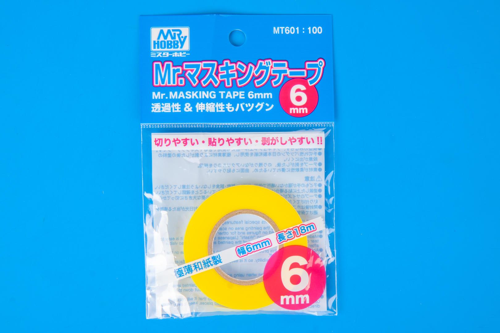 Mr Hobby Gunzmt601 Mr Masking Tape Gunze 6mm