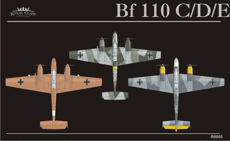 Bf 110 Royal Class 1 48 Eduard Store