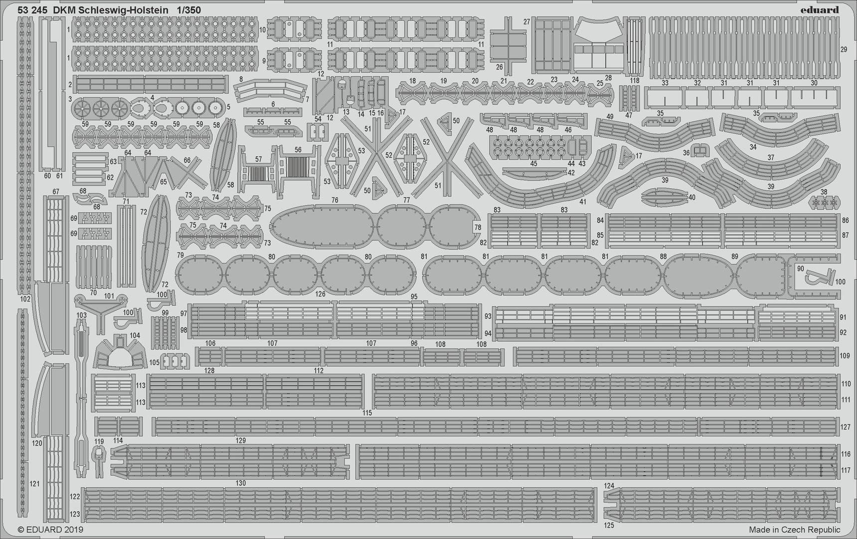 SCHLESWIG-HOLSTEIN  TRUMPETER     1/350 R53245_z1