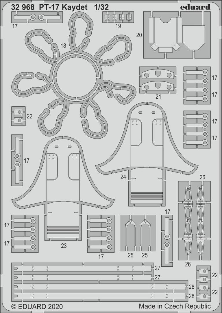Eduard Edua33266 Pt-17 N2s-3 Seatbelts Steel 1//32 for sale online