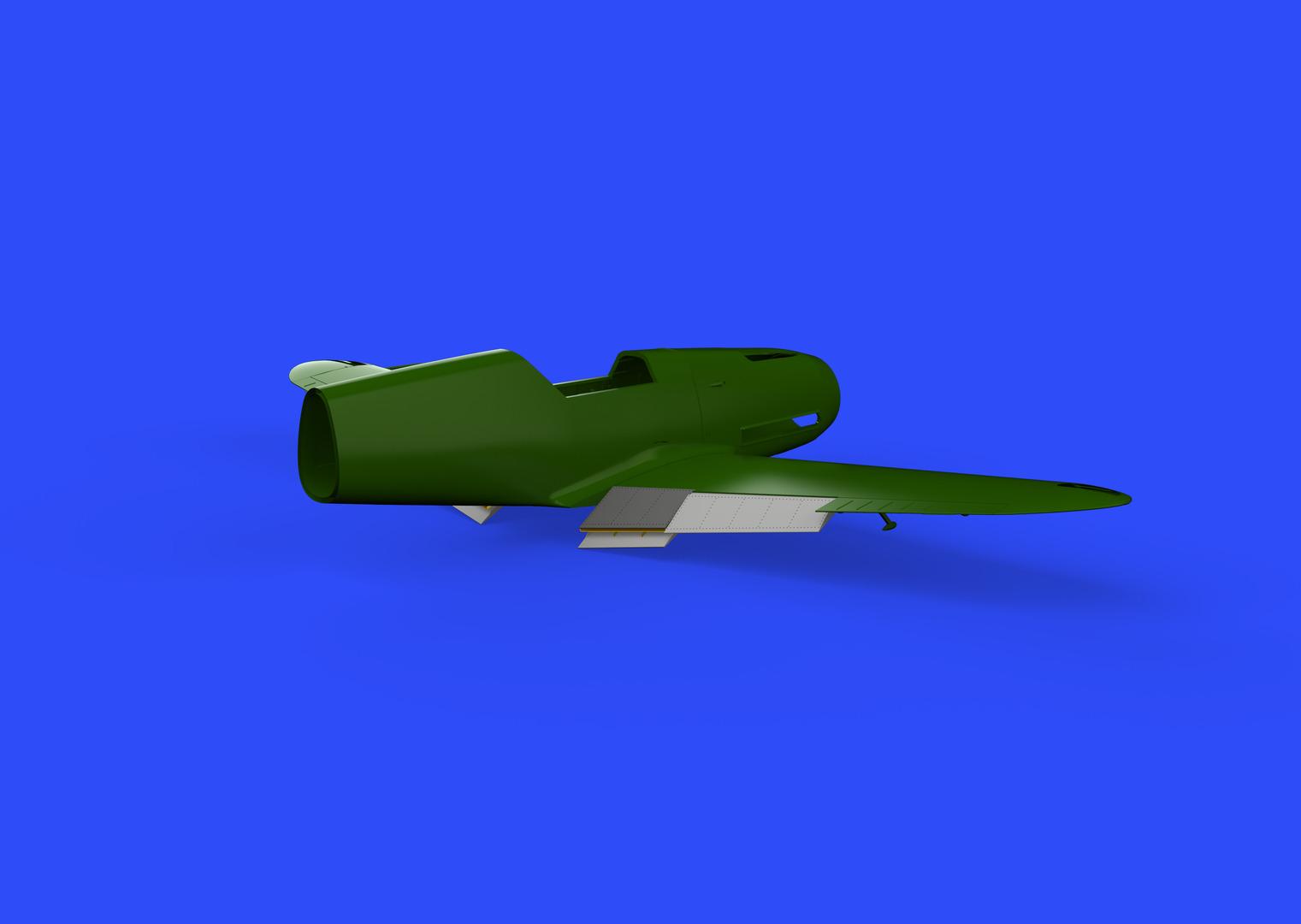 EDUARD BRASSIN 648291 Landing Flaps for Eduard Kit Bf109F in 1:48